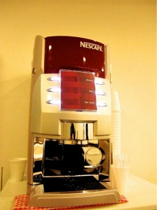 Coffee and Tea Machine