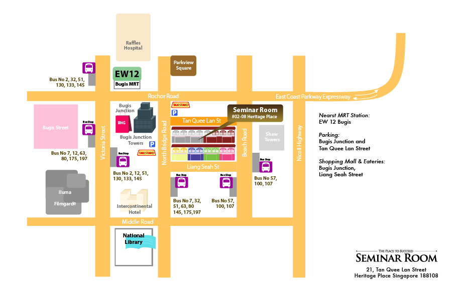 Directions Map to Seminar Room